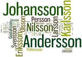 Swedish-surnames